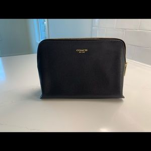 Coach cosmetic bag - never used!